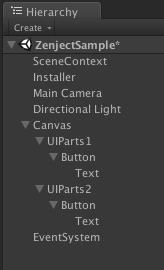 Zenject_UI_hierarchy
